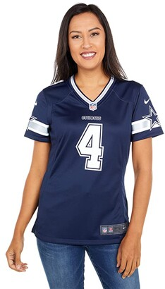 Dallas Cowboys Dallas Cowboys Nike Dak Prescott #4 Game Jersey (Navy) Women's Clothing