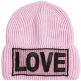Versace Love Knitted Wool Beanie Hat