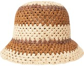 Brixton Essex Raffia Bucket Hat - Women's