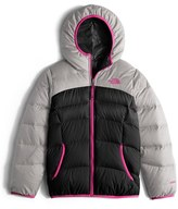 The North Face Girl's 'Moondoggy' Reversible Down Jacket
