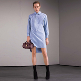 Burberry Cotton Chambray Tunic Shirt Dress