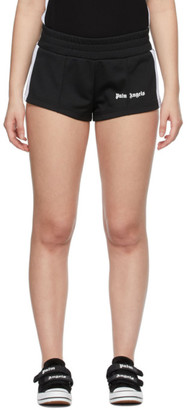 Palm Angels Black Track Hot Shorts