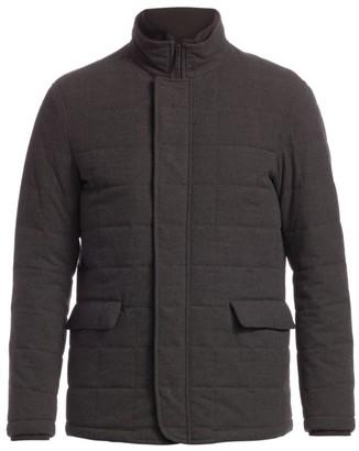 Emporio Armani Melange Quilted Blouston Jacket