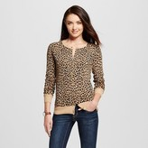 Women's Favorite Cardigan Long Sleeve Animal Print - Merona