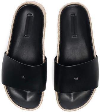 Alexander Wang Leather Suki Slides