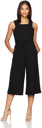 Maggy London Women's Wide-Leg Crop Jumpsuit