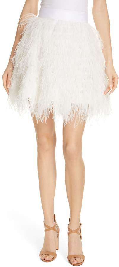 5f0ba4989 Feathers Skirt - ShopStyle