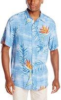 Margaritaville Men's Short Sleeve Birds In Paradise BBQ Shirt