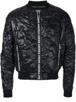 Andrea Crews quilted effect bomber jacket