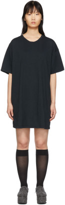 Raquel Allegra Black T-Shirt Dress