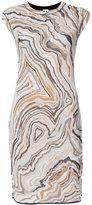 M Missoni graphic tank dress - women - Cotton/Polyamide/Polyester/Viscose - 38