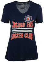 adidas Women's Chicago Fire Middle Stripes T-Shirt