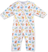 Kissy Kissy Born to Run Animal Printed Coverall, Yellow, Size 3-18 Months
