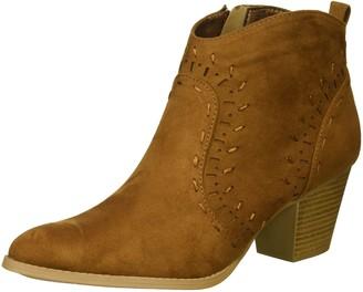 Qupid Women's Western Bootie Boot