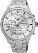 Seiko Men's Chronograph Special Value Stainless Steel Bracelet Watch 43mm SKS535