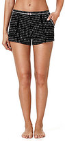 Kensie Dotted Jersey Sleep Shorts