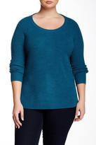 Tart Sorrel Wool Sweater (Plus Size)