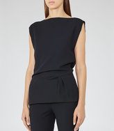 Reiss Kia Asymmetric Top