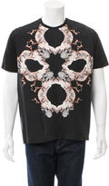 Roberto Cavalli Graphic Crew Neck T-Shirt