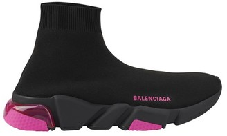 Balenciaga Speed lace-up clear