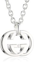 Gucci silver britt collection necklace YBB190484001