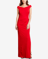 Lauren Ralph Lauren Stretch Jersey Gown