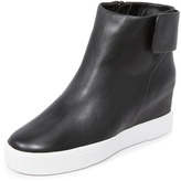 DKNY Cathy Wedge Sneaker Booties