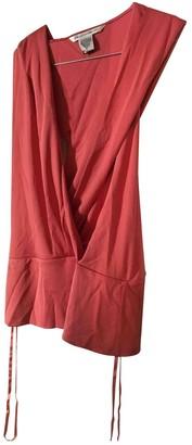 Diane von Furstenberg Pink Silk Tops