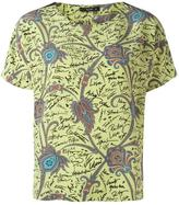 Etro printed T-shirt - women - Silk - 40