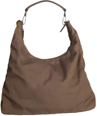 Gucci Hobo Khaki Synthetic Handbags