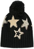Le Chapeau star pom pom beanie