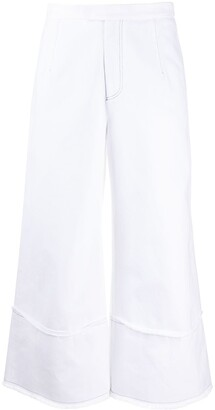 Jejia Raw Edge Wide Trousers