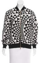 Fausto Puglisi Patterned Bomber Jacket