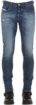 Diesel Skinny Fit Cotton Denim Jeans