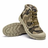 KazmeSports Men's Military Camouflage Lace Up Camping Climbing Shoes / 11
