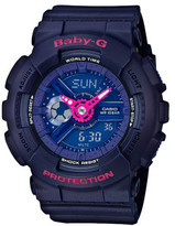 Baby-G Baby G Baby G Duo Punching Pattern W/Time,1/100 S