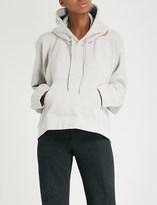 Vetements Misplaced jersey hoody