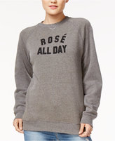 Kid Dangerous Cotton Rosé All Day Graphic Sweatshirt