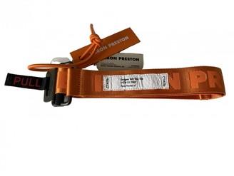 Heron Preston Orange Polyester Belts