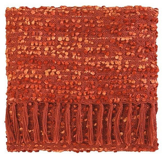 Company C Park Acrylic Hand Woven Throw Blanket, Newport Red