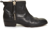 Golden Goose Deluxe Brand Anouk Western distressed-leather ankle boots