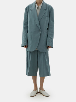 Low Classic Oversized Linen Blazer