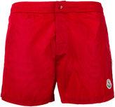 Moncler side stripe swim shorts - men - Polyimide/Polyester - XL