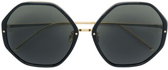 Linda Farrow LFL901 octogonal sunglasses