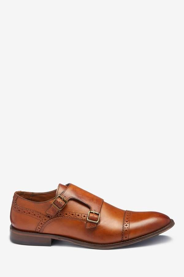 ec3d1f7cb7342 Tan Monk Shoes - ShopStyle UK