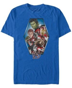 Marvel Men's Avengers Endgame Geometric Group, Short Sleeve T-shirt