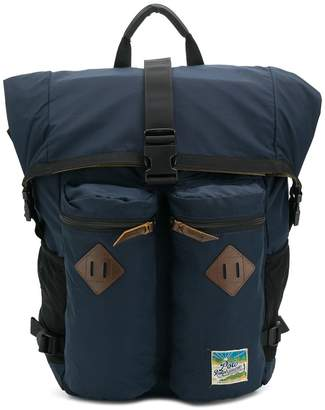 Polo Ralph Lauren roll top hiking backpack