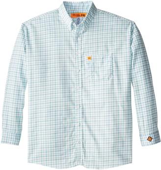 Wrangler Men's Big-Tall Flame Resistant Lightweight Button Closure Woven Shirt