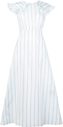 Calvin Klein Striped Pioneer Dress