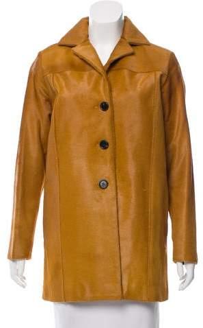 Derek Lam Barn Ponyhair Coat
